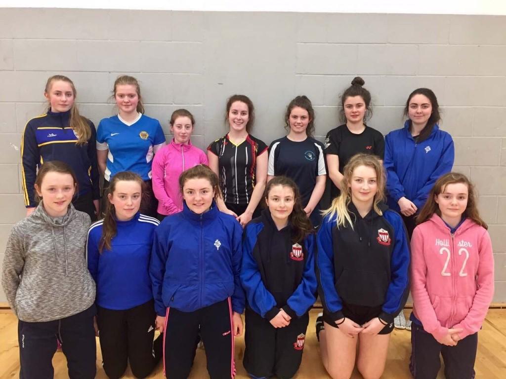 Pic: St Mary's U14, U16 and U19 Badminton Teams